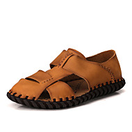 Sandaler-Læder-Komfort-Herrer--Udendørs Fritid-Flad hæl