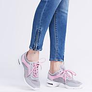 Sapatos de Dança(Preto Branco Cinza) -Feminino-Não Personalizável-Tênis de Dança