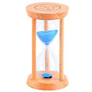 Liten timeglass pendul nedtelling 1/3 / 5 minutter tid mini glass tre gave