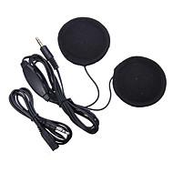 3,5 mm-es jack fejhallgató sisak bukósisak hangszóró fejhallgató csatlakozó hangerőszabályzóval mp3 telefonon zenét sisak kiegészítők
