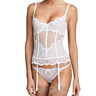 Damen Brustkorsett Nachtwäsche,Sexy Push-UpPolyester Mittelmäßig