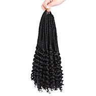 סריגה צמות טוויסט תוספות שיער שיער צמות