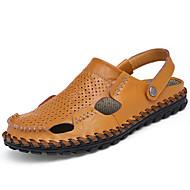Herre-PU-Flat hæl-Komfort-Tøfler og flip-flops-Friluft-