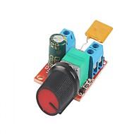 Dc controle de velocidade do motor controlador bordo 3v-35v 5a pwm controlador stepless regulador de tensão dimmer governador comutação