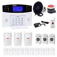 Danmini  LCD Wirless GSM/PSTN Home House Office Security Burglar Intruder Alarm System