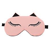 Viagem Máscara de Dormir Descanso em Viagens Respirabilidade Portátil Proteção Solar Sem Eletricidade Estática Dobrável Tecido