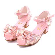 Fille-Mariage Habillé Décontracté Soirée & Evénement--Talon Plat-Confort Nouveauté Flower Girl Chaussures-Sandales-Microfibre