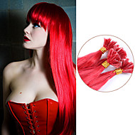 #red újoncoknak u tip emberi haj kiterjesztések vörös szűz haj nem szórnak brazil szűz egyenes haj