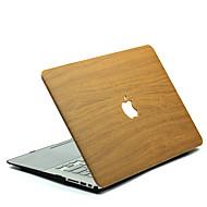 MacBook 케이스 용 Macbook 나무결 폴리카보네이트 자료