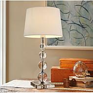 60 크리스탈 콘템포라리 예술적 단순한 테이블 램프 , 특색 용 크리스탈 장식 , 와 용도 온/오프 스위치 인-라인 스위치