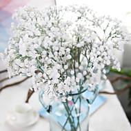 1 Větev Polyester Dětský dech Květina na stůl Umělé květiny