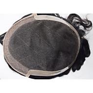 8x10 sznurowadła torebka 100% ludzkiego włosa mężczyzna torebki indyjski system włosów czarny