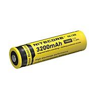 1PCS NITECORE NL1832 3200mAh 3.7V 11.8Wh 18650 Li-ion Rechargeable Battery