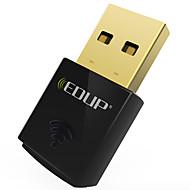 edup usbワイヤレスwifiアダプター300 mbps wirlessネットワークカードwifiドングルミニep-n1557