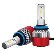 2pcs H8 H9 H11 7200LM csp LED phare 72 w ampoule de phare de voiture conduit de la lumière anti-brouillard 6500 k 12 v