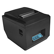 80mm termisk printer regningen print 300 mm / s POS-8320 support andrews OTG med cuttersale sort