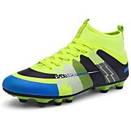 Chlapecké Atletické boty Pohodlné Guma Jaro Podzim Sportovní Fotbal Pohodlné Šněrování Plochá podrážka Oranžová Zelená Námořnická modř