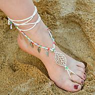 Dames Enkelring/Armbanden Legering Bohemia Style Bladvorm Sieraden Voor Dagelijks Causaal 1 stuks