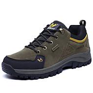 Men's Athletic Shoes Comfort Suede Hiking Gore Orange Brown Green Pool