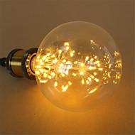 3W E27 LED kulaté žárovky G125 48 Integrovaná LED 250 lm Teplá bílá Stmívací Ozdobné AC 220-240 V 1 ks