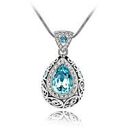 Dámské Náhrdelníky s přívěšky Šperky Šperky Křišťál Slitina Módní Euramerican Šperky Pro Svatební Párty 1ks