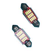 2.4w 31ミリメートル/ 36ミリメートルフェストーンled電球(2個)