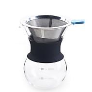 Conjunto de conjunto de pote de café artesanal desdobramento familiar handflush compartilhe pote