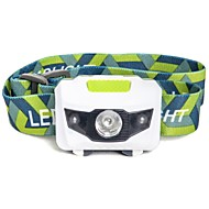 Lanternas de Cabeça LED 500 Lumens 4.0 Modo LED Baterias não incluídas Impermeável Emergência Super Leve para Campismo / Escursão /