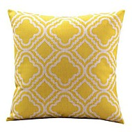 1 Pcs Classic Yellow Plum Blossom Pattern Pillow Cover Sofa Cushion Cover Home Decor Pillow Case
