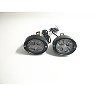 elektromos autó spotlámpák motorkerékpár szuper fényes LED fényszóró tükör 12v24v módosított külső bura pár