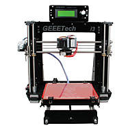 geeetech 8mm acryl RepRap Prusa Mendel i3 3d printer diy kit 1.75mm filament / 0.3mm nozzle