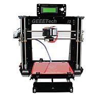 geeetech 8 milímetros Prusa RepRap acrílico Mendel i3 3d impressora diy 1,75 milímetros kit filamento bico / 0,3 milímetros
