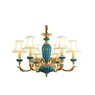 すべての銅のシャンデリアの翡翠装飾の部屋シャンデリア6