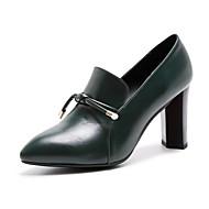 Dámské Podpatky Pohodlné Gladiátorské Lodičky lehké Soles Společenské boty Pravá kůže Kůže Podzim Zima Svatební Ležérní Šaty Party Chůze