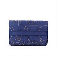 Damen Aufbewahrungstasche Baumwolle Ganzjährig Normal Ohne Reißverschluss Blau