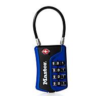 マスターロック697dパスワードロック解除4桁パスワードデイルロックパスワードロックスーツケースロックTSAロック