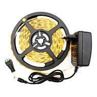 36W Flexibele LED-verlichtingsstrips 3400-3500 lm DC12 V 5 m 300 leds Warm Wit Wit
