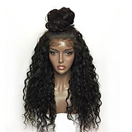 Kinky Curly Lace Front Synthetic Wigs For Black Women Fashion Daily Deep Curly Heat Resistant Wig Baby Hair