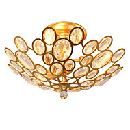 Lightmyself 3 אורות הזהב המודרני קריסטל תקרה המנורה בתוך האורות עבור חדר השינה חדר האוכל