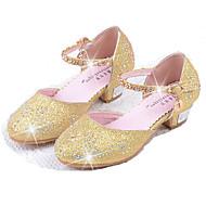 Para Meninas Rasos Conforto Sapatos para Daminhas de Honra Couro Ecológico Verão Outono Social Conforto Sapatos para Daminhas de Honra