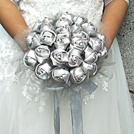 "Svatební kytice Kytice Svatba Tyl 25 cm (cca 9,84"")"