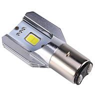 1pcs ba20d a conduit l'ampoule de projecteur universelle de phare de moto pour bmw suzuki burgman 6000k dc12v-80v