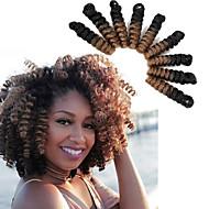 Crochet Bouncy Curl Tresses Twist Extensions de cheveux Kanekalon Cheveux Tressée