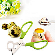 1PCs Quail Scissors Egg Cutter Eggs Opener Quail Eggs Scissors(Random Color)
