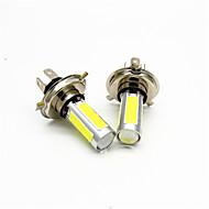 2pcs 25w vodio maglovito svjetlo kugla 5face h4 6000k auto styling vodio kočnica svjetla magla zaokretno svjetlo žarulja ac / dc12-24v