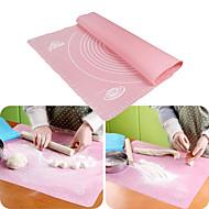 1 Τεμάχιο Εργαλεία για Ψήσιμο & Ζύμες Ορθογώνιο Ψωμί Μπισκότα Πίτες Πίτσα για Noodles ΣιλικόνηΠολυλειτουργία ψήσιμο Εργαλείο Φιλικό στο