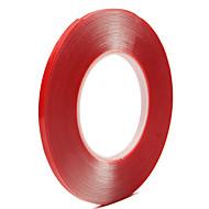 10mm x 10m merkki vahva super kaksipuolinen kirkas läpinäkyvä akryyli vaahto liima nauha kaksipuolinen akryyli vaahto nauha