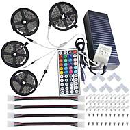 120W ライトセット 12000 lm AC 100-240 V 20 m 600 LEDの RGB