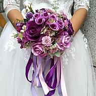 """פרחי חתונה זרים חתונה 9.84""""(לערך.25ס""""מ)"""