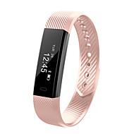 hhy id115 pulseira inteligente esporte pedômetro aptidão rastreador sono monitoração braçadeira chamada lembrete